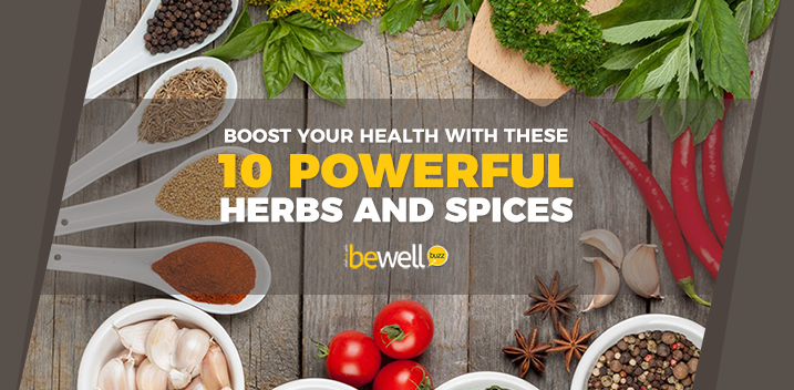 10 Most Powerful Herbs and Spices To Add To Your Diet