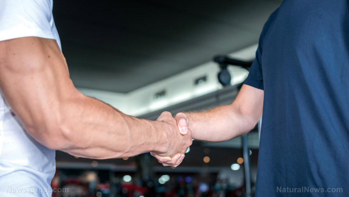Your handshake may be a good indicator of how healthy your brain is