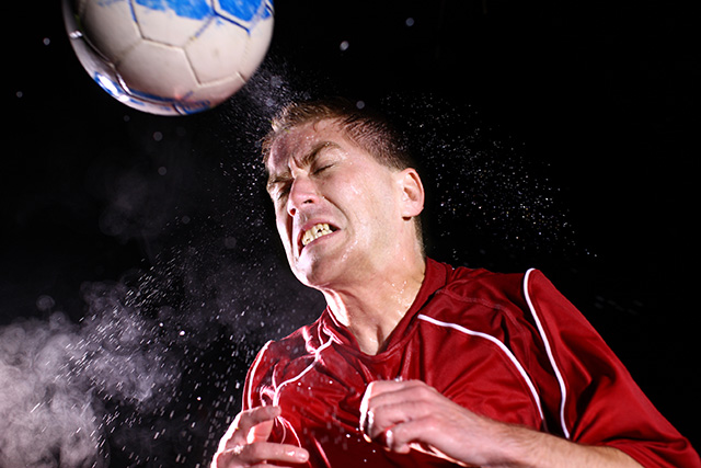 Soccer players who score using their head are more likely to suffer from cognitive impairments