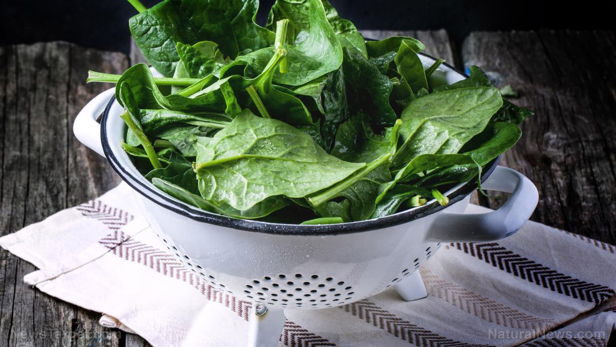 One of the most nutritious green leafy vegetables, spinach is versatile and easy to incorporate into your diet