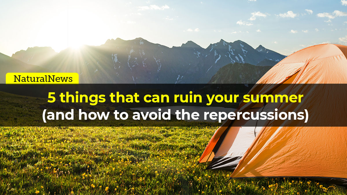 5 things that can ruin your summer (and how to avoid the repercussions)