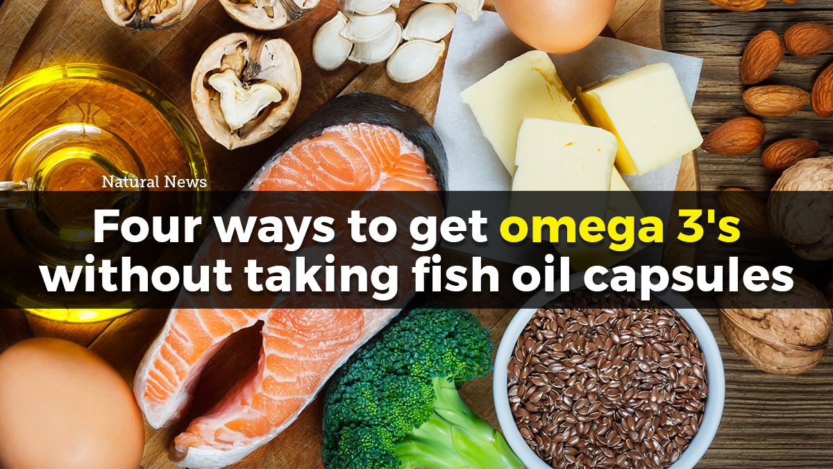 Four ways to get more omega 3s without taking fish oil capsules