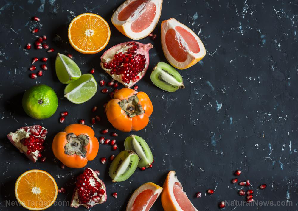 Research shows that eating citrus fruits can reduce stroke risk