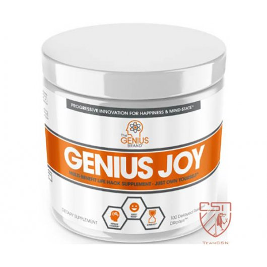 The Genius Brand Genius Joy 100 DRcaps
