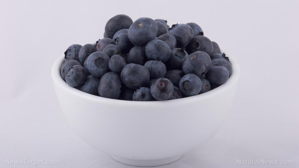 Blueberries prevent chronic disease by reducing inflammation in your body