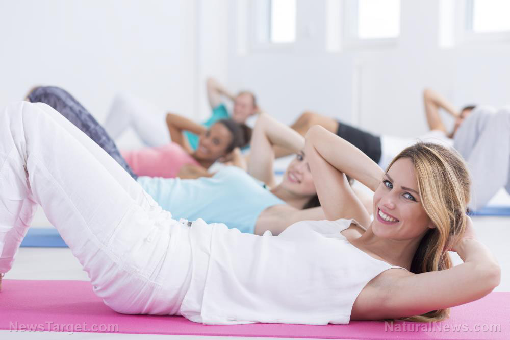 Pilates exercise found to improve motor control in middle-aged women