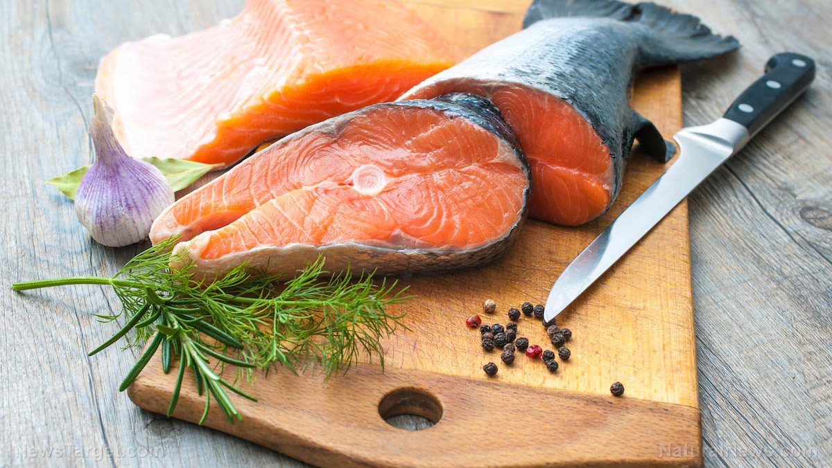 Eating salmon while pregnant can boost your child's IQ by 3 points