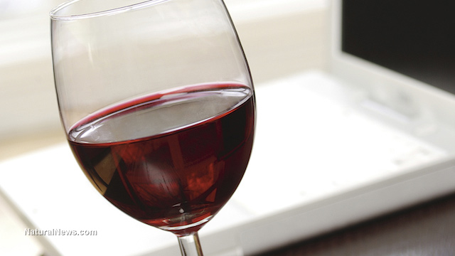 "Drinking red wine causes flurry of ""brain exercise"" as neurons work to analyze the experience"