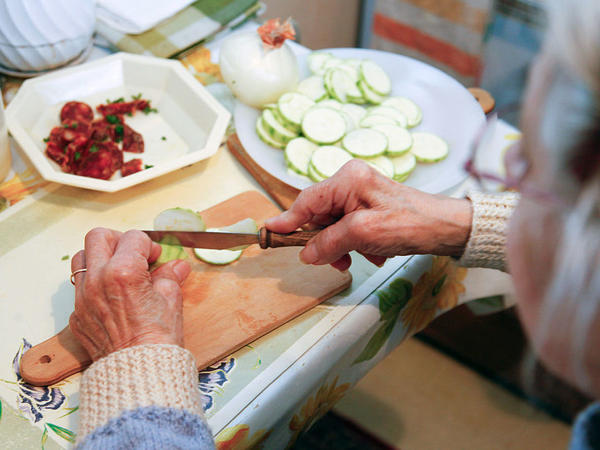 Daily Movement — Even Household Chores — May Boost Brain Health In Elderly