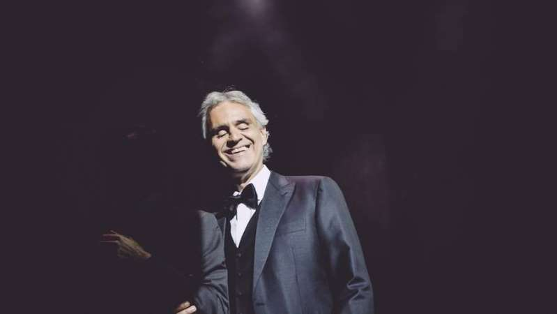 'I feel surrounded by love in the UAE' says Andrea Bocelli ahead of his concert