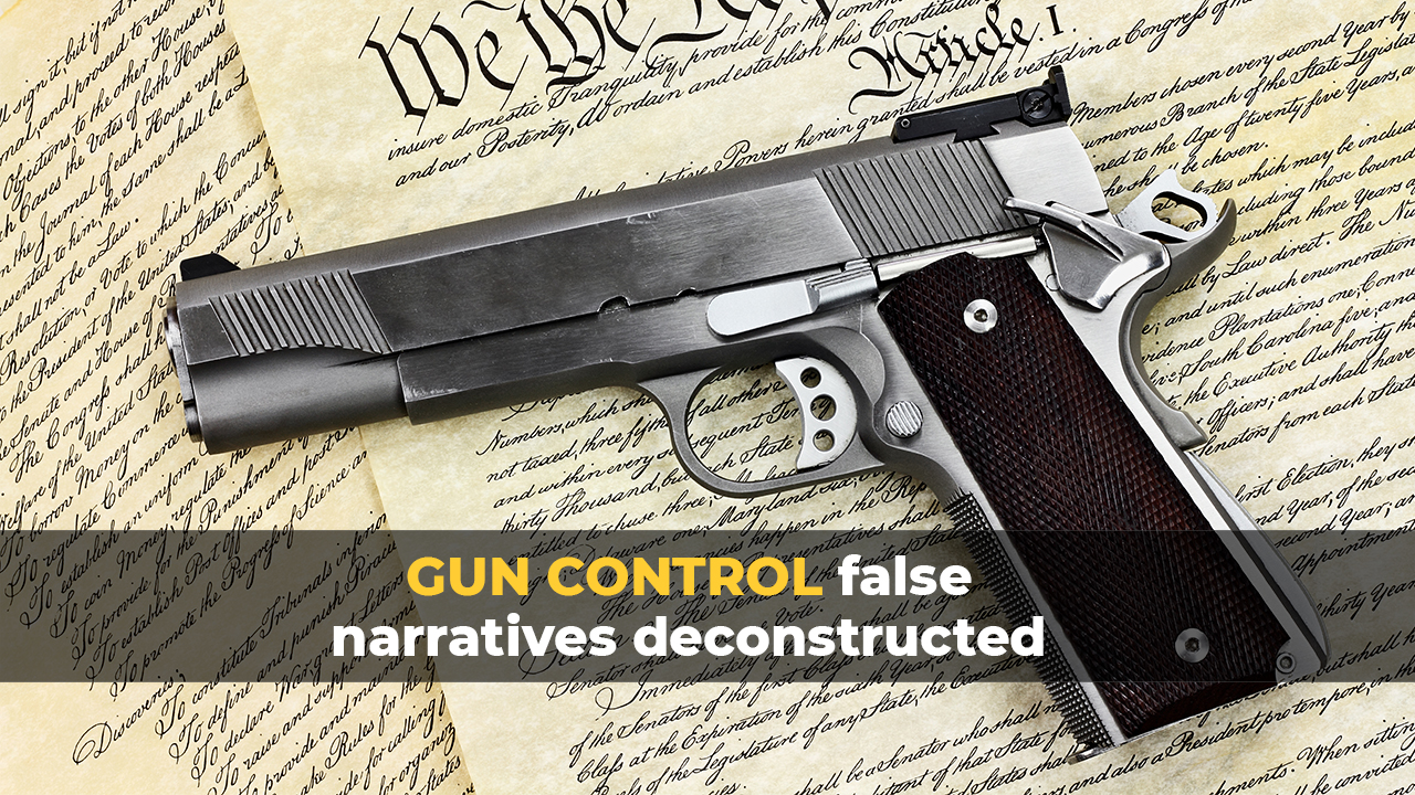Study: Weapon magazine bans do NOTHING to decrease fatal shootings, which also proves that Democrats just want to disarm us, period