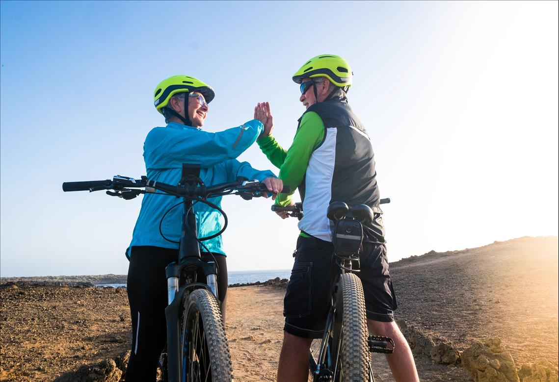 Electric bikes can boost older people's mental performance and their well-being