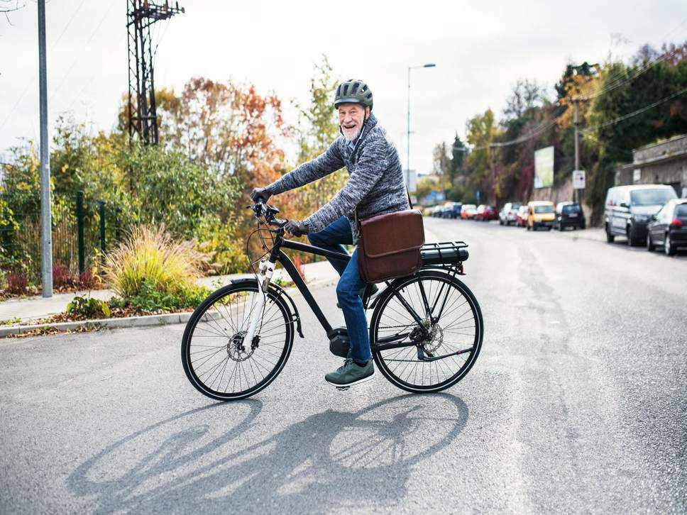 E-biking can improve mental health and wellbeing in older people