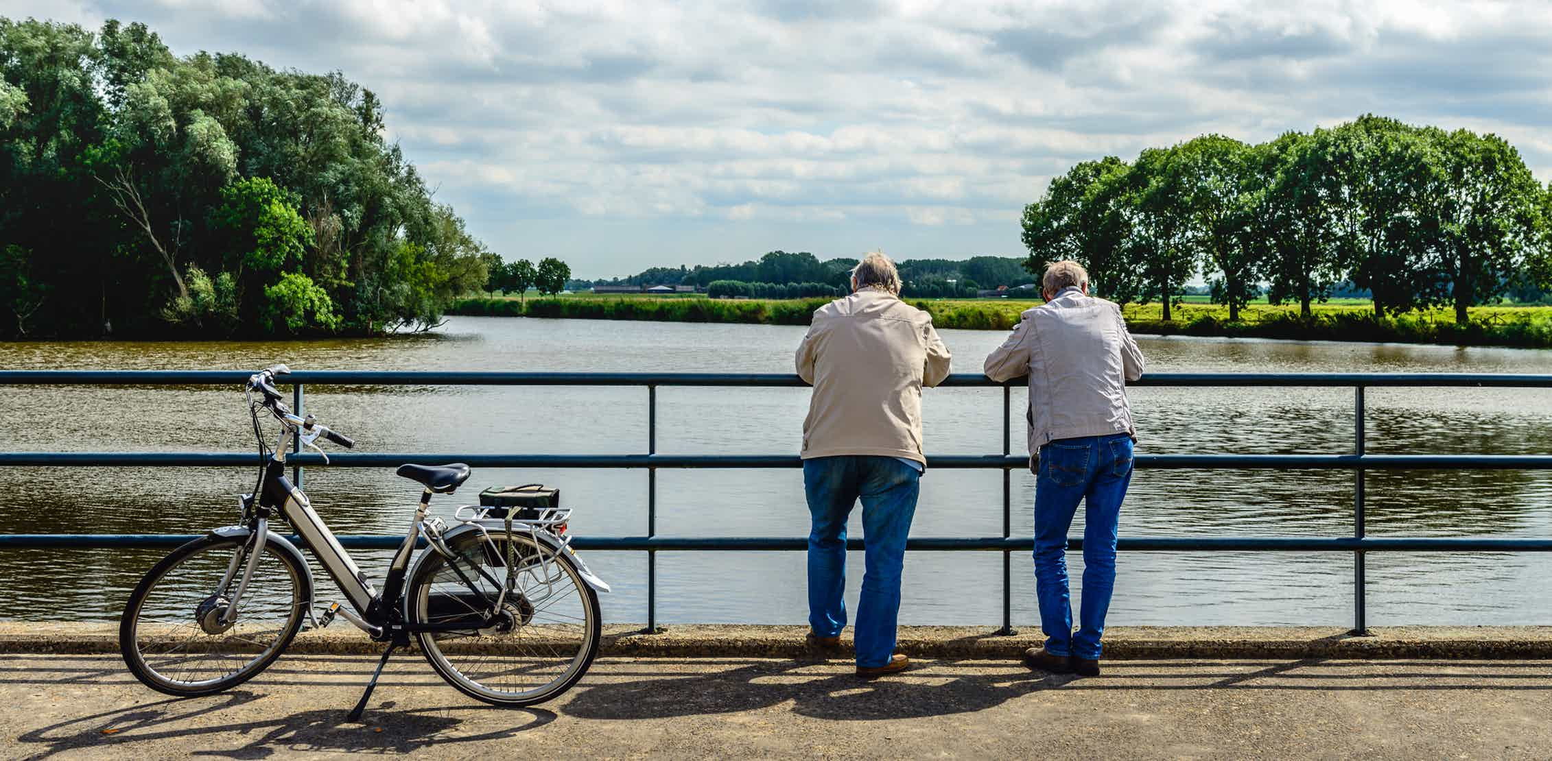 Electric bikes can boost older people's mental performance and well-being