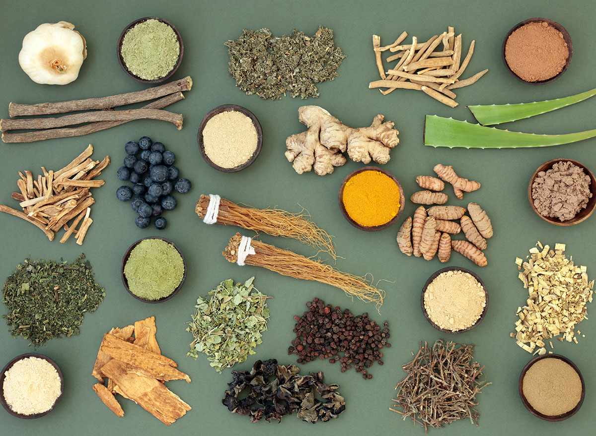 What are adaptogens, and what do they do?