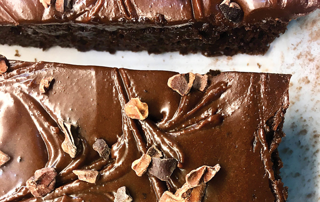 The Wow of Cacao: Guilt-Free Black Bean Brownies