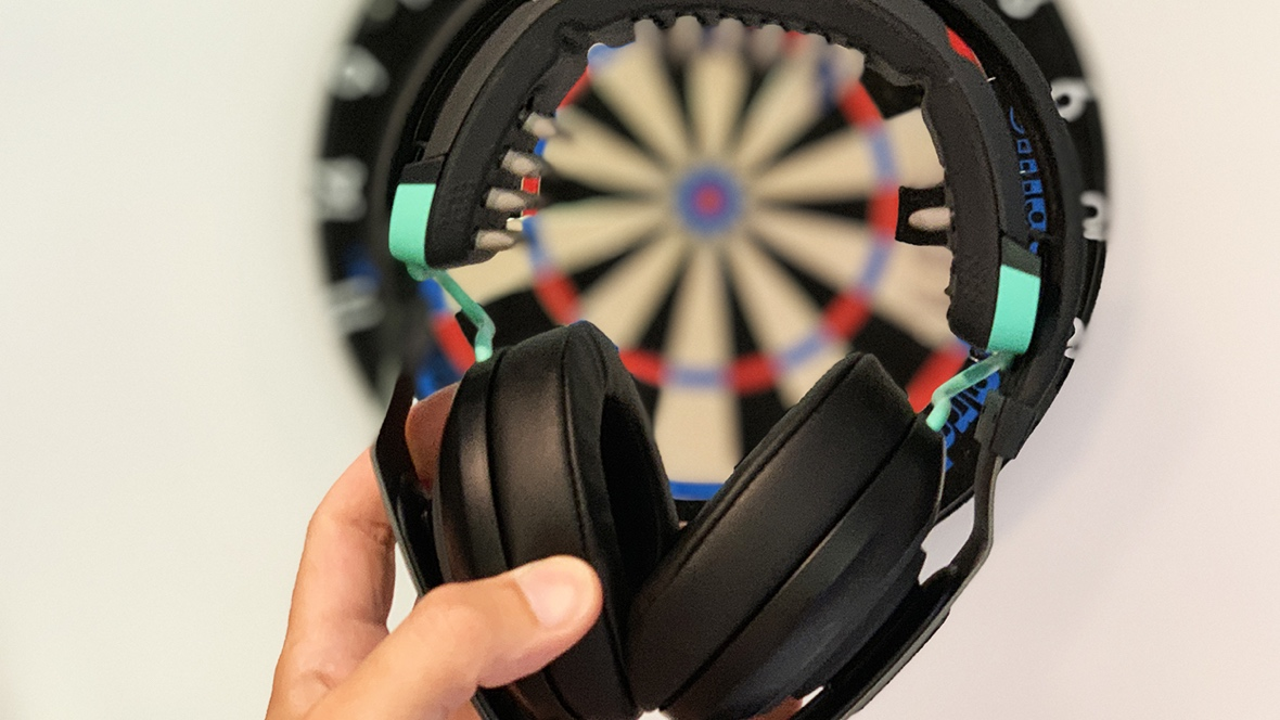 I tried to become a darts pro using Halo's new brain-zapping headphones