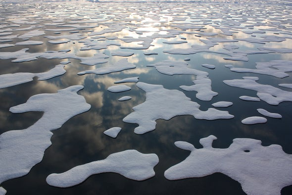 Magnet and Neuron Model Also Predicts Arctic Sea Ice Melt