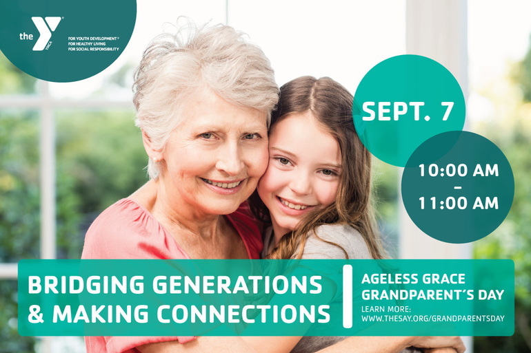 Celebrate Grandparent's day with a Special Ageless Grace Class at the Berkeley Heights YMCA