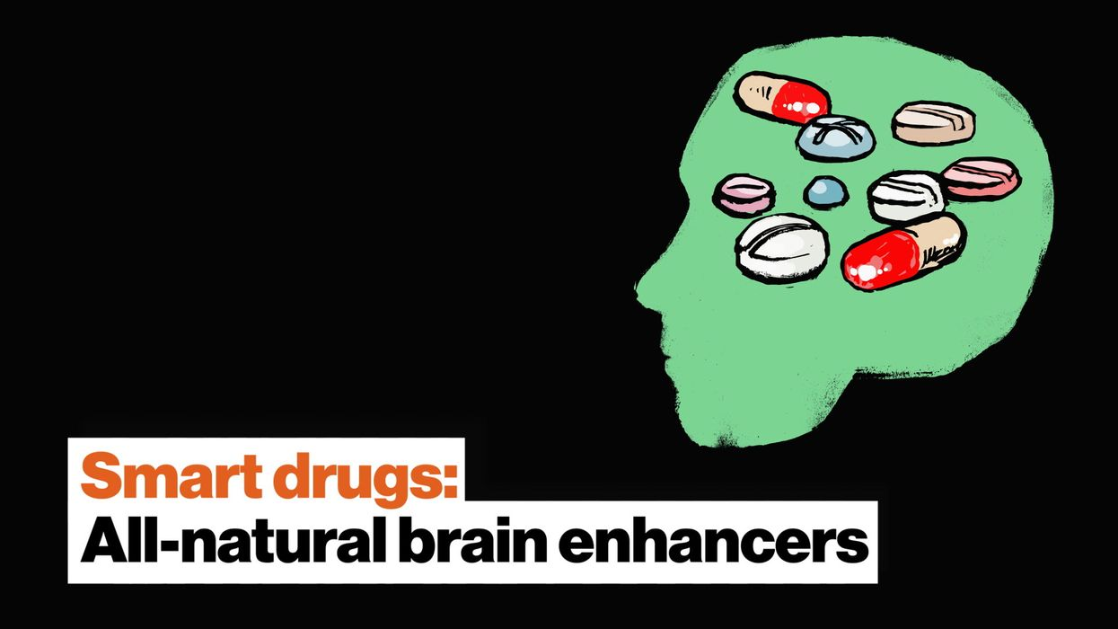 Smart drugs: All-natural brain enhancers made by mother nature