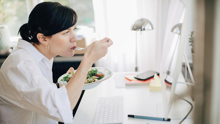 What you should eat to work better under pressure